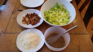 Caesar Salad Mixings