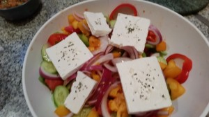 Greek Salad (the Greek way)!