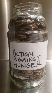 Time to empty your charity jar!