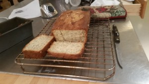 Dessert: lemon-poppy seed bread