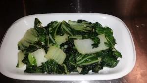 Final Bok Choy dish