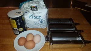 "The ingredients...so simple"" eggs, flour, salt & water"