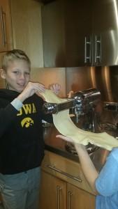 Team work for good pasta