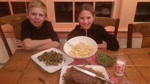 The full dinner!