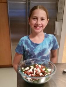 Salad: pre-croutons