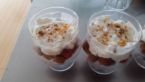Starburst Trifle